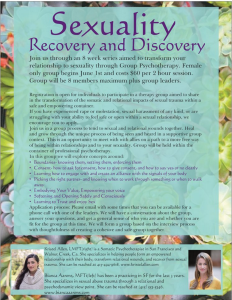 Sexuality Recovery and Discovery
